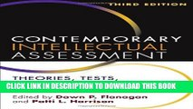 [PDF] Contemporary Intellectual Assessment, Third Edition: Theories, Tests, and Issues Full Online