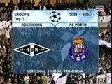Rosenborg v. Porto 18.09.2001 Champions League 2001/2002 Highlights