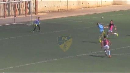 Les joueurs de l'Académie du Paradou marquent un but venu d'ailleurs