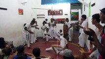 capoeira , démonstration à Itacaré aout 2016