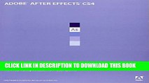 [PDF] Adobe After Effects CS4 Classroom in a Book Popular Collection