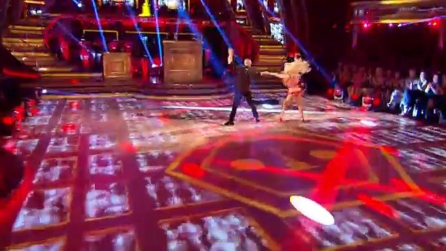Judge Rinder & Oksana Platero dance the Cha Cha to 'Mercy' - Strictly Come Dancing 2016