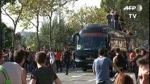 Techno Parade - un dancefloor géant sur les quais de Seine à Paris