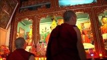 Un voyage au tibet pour être ordonné moine...