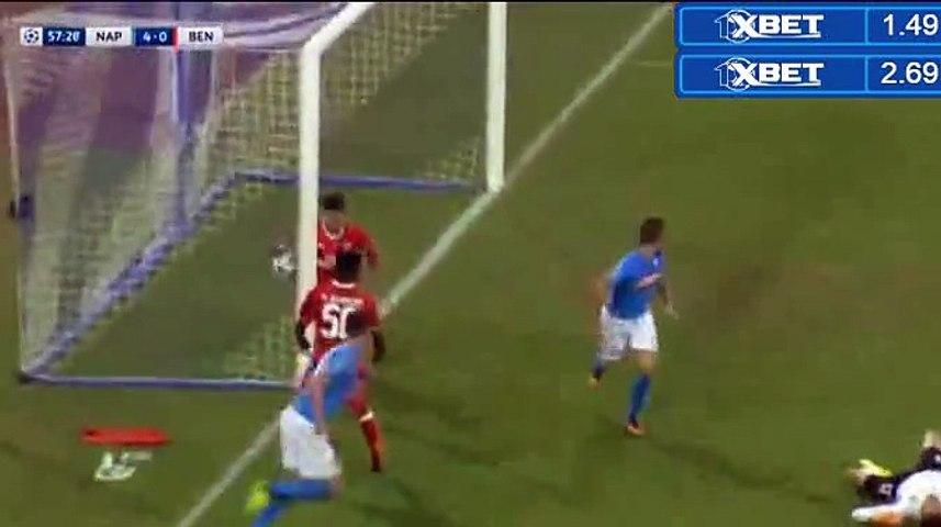 4-0 Dries Mertens Second Goal HD - Napoli 4-0 Benfica 28.09.2016 HD