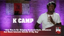 "K Camp - ""Only Way Is Up"" Bringing Realness Back, Influences And Music Interests Outside Of Hip Hop (247HH Exclusive)"
