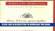 [PDF] The Five People You Meet In Heaven Popular Collection