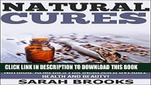 [PDF] Natural Cures: 20 Natural Cures, Herbal Medicines, And Natural Remedies For Increased