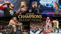 Pro Wrestling Round Up - Clash Of Champions Predictions