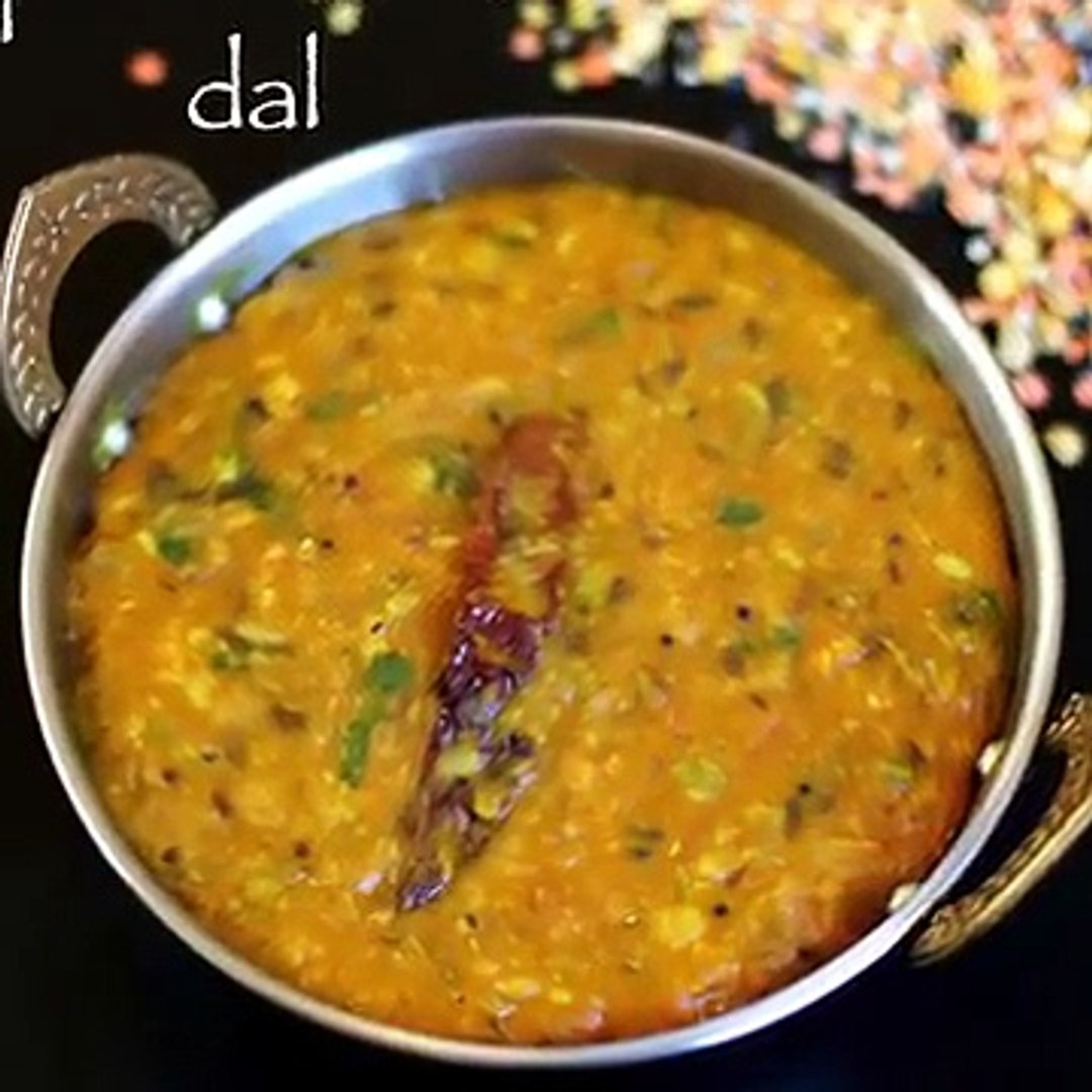 panchmel dal recipe _ rajastani panchratna dal recipe - easy dal recipe