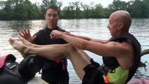 FIRST TIME TRYING WATERSKIING - Waterski Water Skiing Ski Jet Ride Riding Fun Lesson Tips Advice-fqXnJzC5StY
