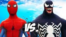SPIDER-MAN VS VENOM - EPIC SUPERHEROES BATTLE | DEATH FIGHT