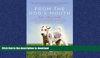 READ THE NEW BOOK From the Dog s Mouth: Barks, Yelps and Growls READ EBOOK