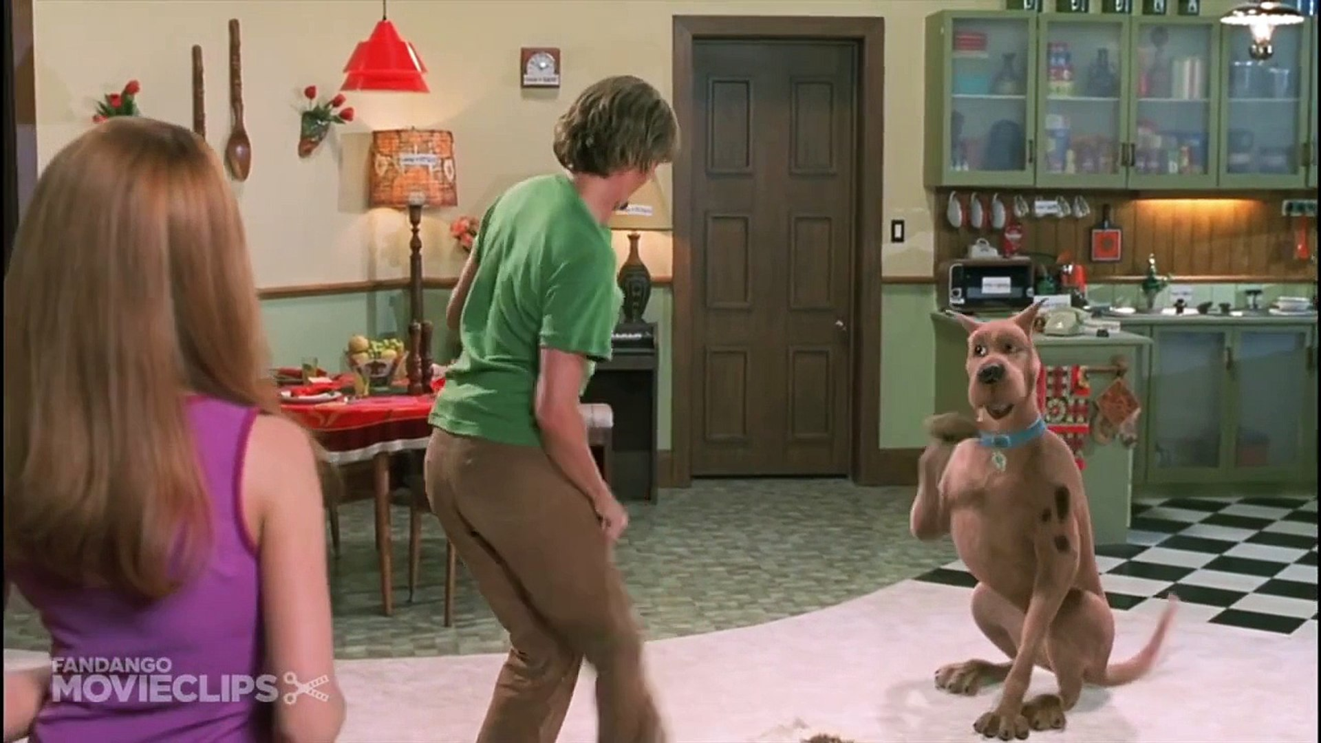 It's not funny when Shaggy and Scooby have a fart battle in Scooby-Doo: The movie, but it becomes cringe-worthy as it goes on for a whole minute.