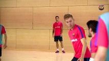 FCB Futsal: Bateria y Dyego se reincorporan a la pretemporada del Barça Lassa
