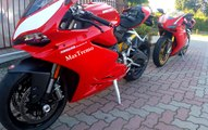 DUCATI PANIGALE 959 Vs DUCATI 1098 S ( VIDEO 4K)
