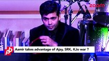 Aamir Khan Takes Advantage For Karan Johar & Ajay Devgan War- Bollywood Gossip