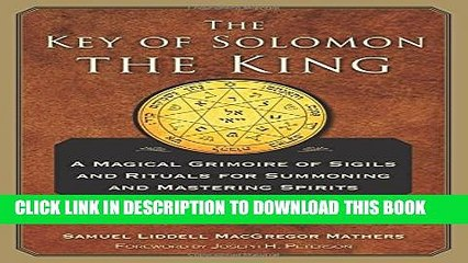 [PDF] The Key of Solomon the King: Clavicula Salomonis Full Colection
