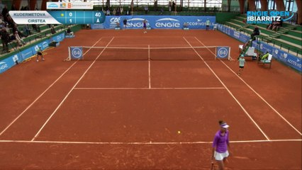 1/4 finale - Cirstea / Kudermetova