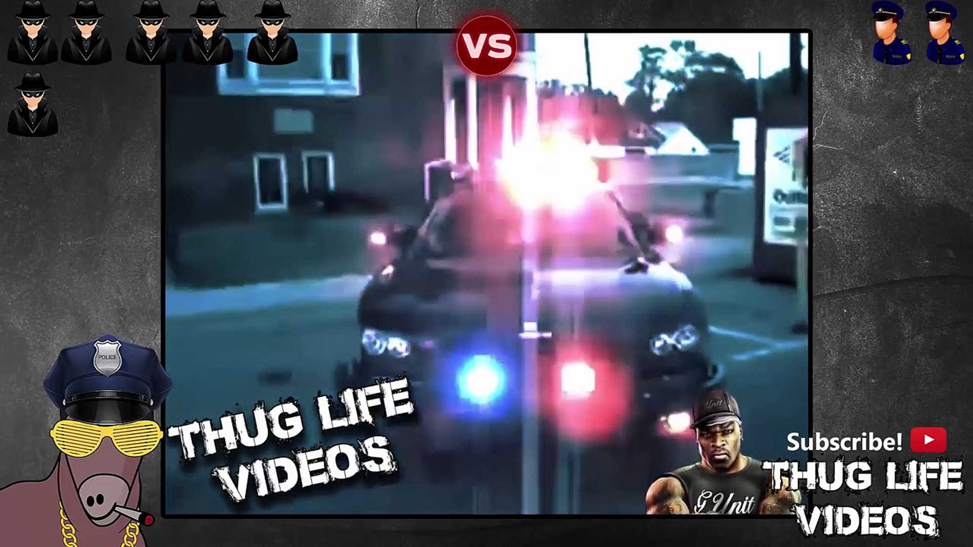 Ultimate Thug Life Compilation #88 Thugs vs Police II