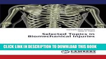 [PDF] Selected Topics in Biomechanical Injuries Full Colection