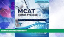 Big Deals  MCAT Verbal Practice: 108 Passages for the new CARS Section  Best Seller Books Most
