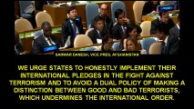 AFGHANISTAN EXPOSES PAKISTAN AT THE UN GENERAL ASSEMBLY !