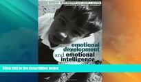 Big Deals  Emotional Development And Emotional Intelligence: Educational Implications  Best Seller