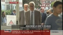 Jean-René Lecerf à Roubaix