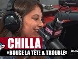 """Chilla """"Bouge la tête"""" & """"Trouble"""" en live acoustique dans Planète Rap"""