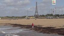 La Tour-Eiffel sur la plage de Sion - Télé Noirmoutier Vendée