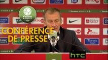 Conférence de presse Stade Brestois 29 - Stade de Reims (2-1) : Jean-Marc FURLAN (BREST) - Michel DER ZAKARIAN (REIMS) - 2016/2017