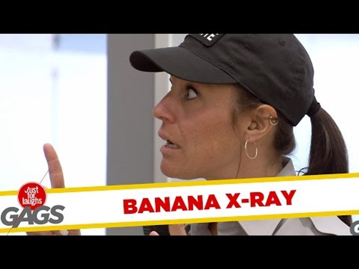 Long Banana in Man's Pants - Just For Laughs Gags