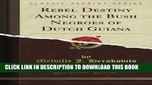 [PDF] Rebel Destiny Among the Bush Negroes of Dutch Guiana (Classic Reprint) Full Collection