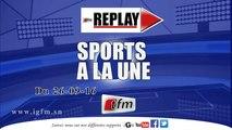 REPLAY - SPORTS A LA UNE du 26 Septembre 2016 - Présentation : Mame Fatou Ndoye