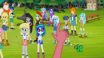 My Little Pony Equestria Girls - Legend of Everfree TVRip Parte 1