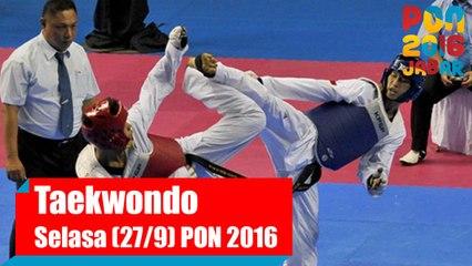 Taekwondo - Pagi, Selasa (27/9)
