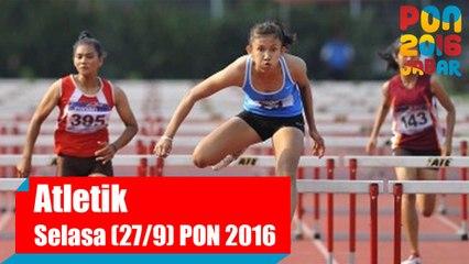 Atletik - Pagi, Selasa (27/9) Part 2