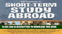 [PDF] Short-Term Study Abroad 2008 (Peterson s Short-Term Study Abroad Programs) Full Collection
