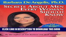 [PDF] Secrets About Men Every Woman Should Know: Find Out How They Really Feel About Women,