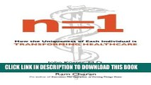 [PDF] n=1: How the Uniqueness of Each Individual Is Transforming Healthcare Full Colection