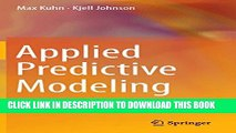 Collection Book Applied Predictive Modeling