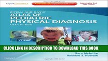 New Book Zitelli and Davis  Atlas of Pediatric Physical Diagnosis: Expert Consult - Online and
