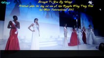 Á hậu Thúy Vân trả lời ứng xử tại Miss International 2015