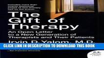 Collection Book The Gift of Therapy: An Open Letter to a New Generation of Therapists and Their