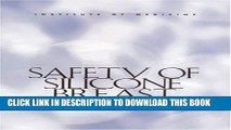 Safety of Silicone Breast Implants Paperback