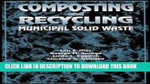 [PDF] Composting and Recycling Municipal Solid Waste Popular Collection
