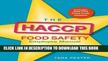 [PDF] The HACCP Food Safety Employee Manual Full Colection