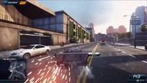 Need For Speed Most Wanted crashes and stunts