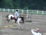 Leçon d'obstacle 90Cm-1M-1M10 (Orlane & Ma soeur)